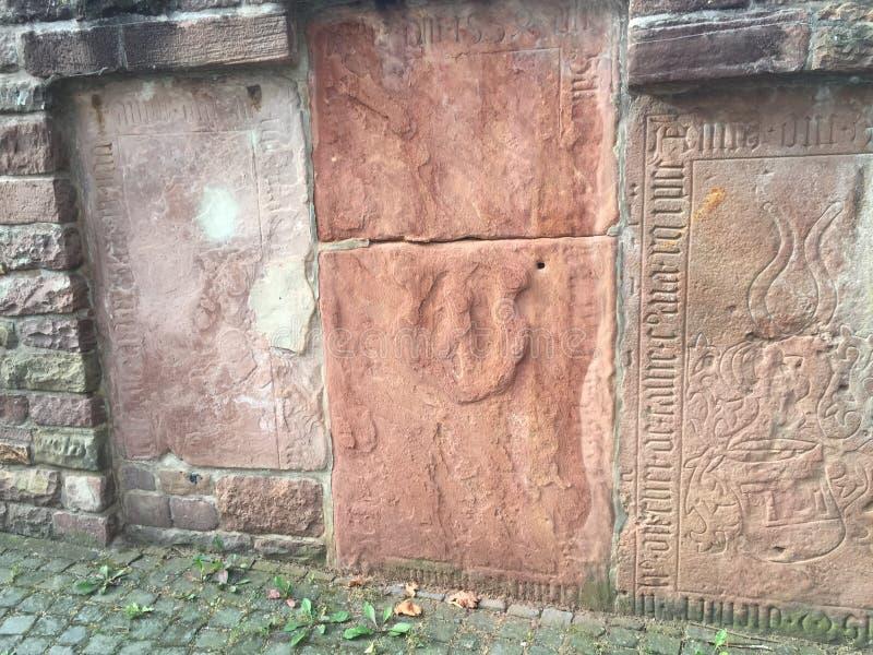 教会wiesloch在德国 免版税库存照片