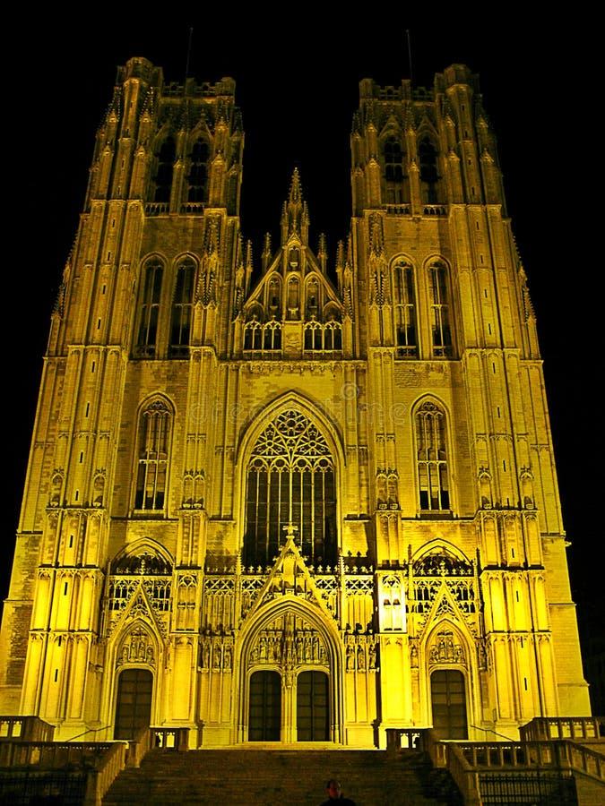 教堂在布鲁塞尔 库存图片