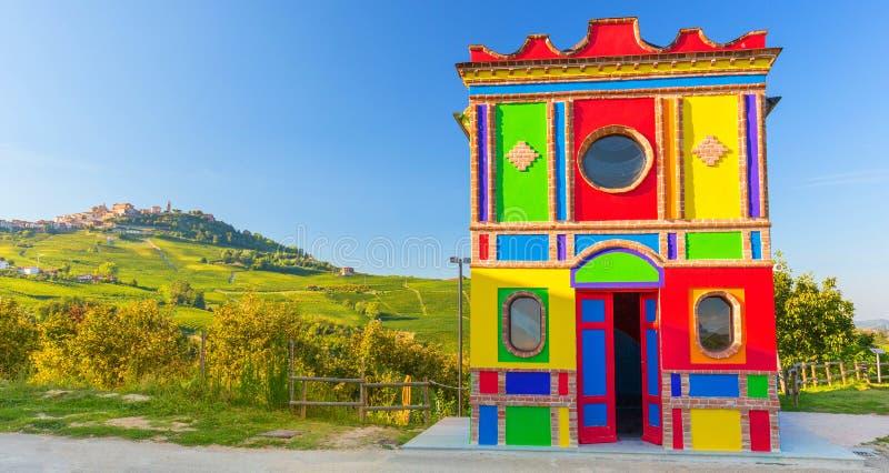 教堂在拉莫拉,山麓,意大利 库存图片
