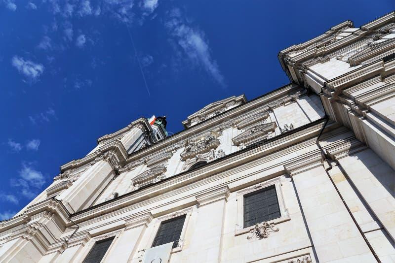 教堂在萨尔茨堡 库存图片