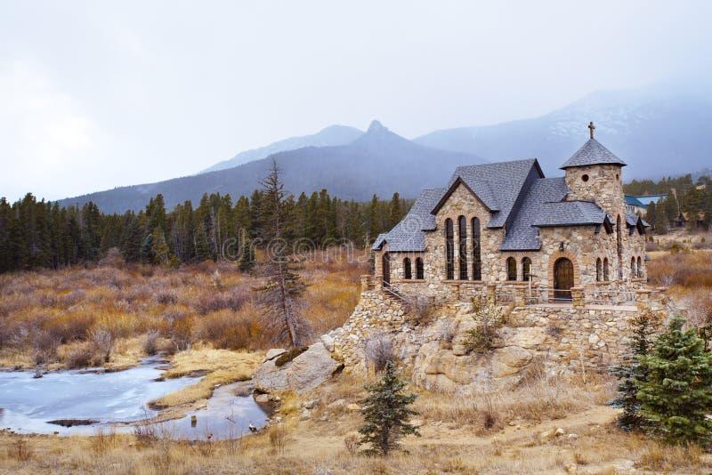 教堂岩石 库存图片