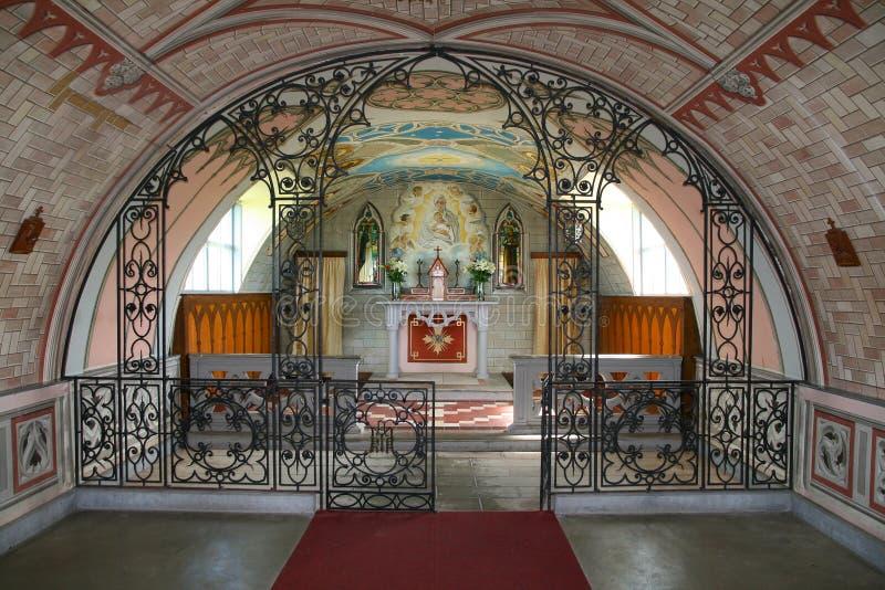 教堂意大利语 免版税库存图片