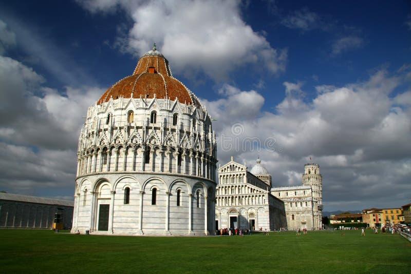 教堂比萨 免版税库存照片