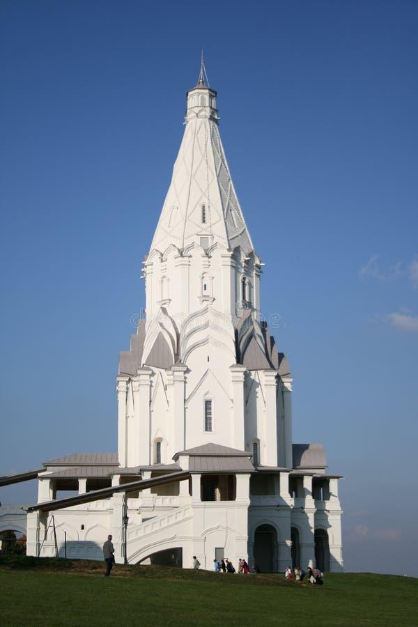 教堂莫斯科俄国 库存图片