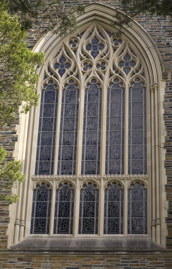 教堂视窗 免版税库存照片