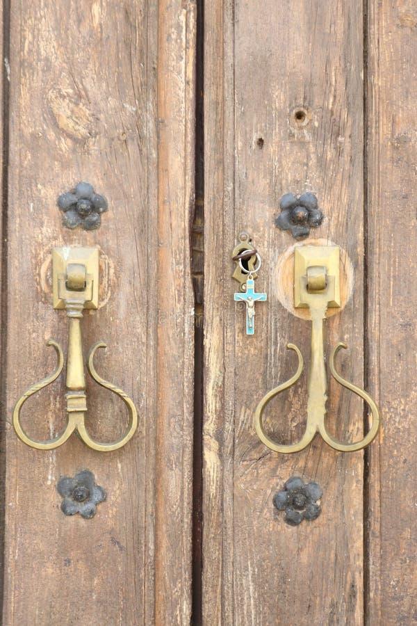 教堂门,安大路西亚,西班牙 免版税库存照片
