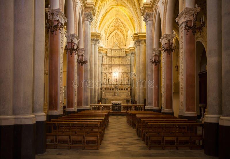 主教堂,埃里切 库存照片
