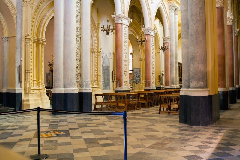 主教堂,埃里切 库存图片