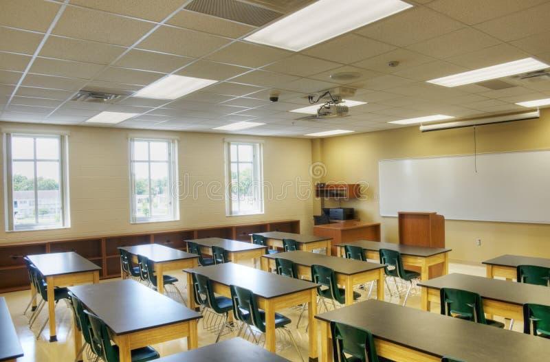 教室hdr内部 免版税库存图片