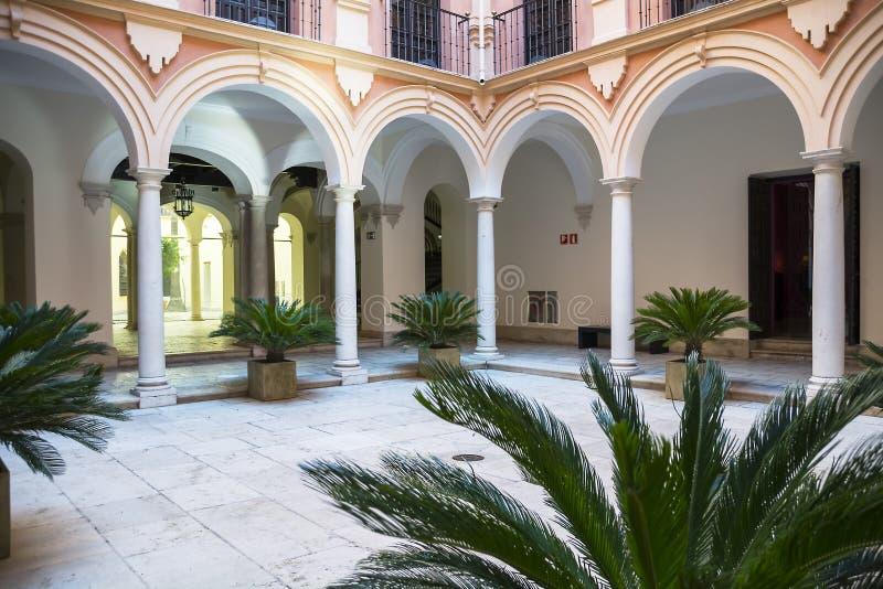 主教宫殿马拉加 库存图片