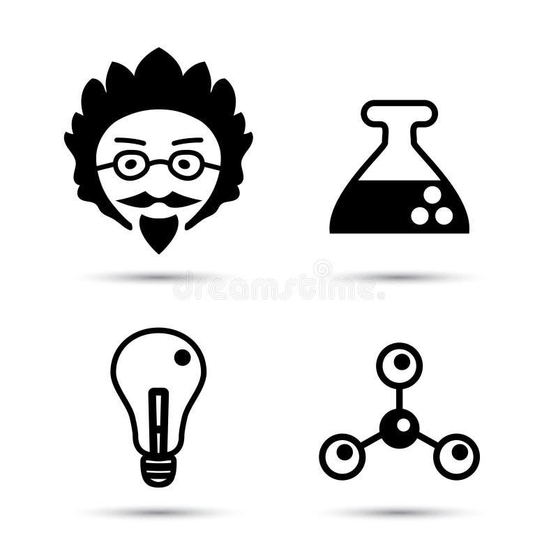 教授和科学象传染媒介例证 皇族释放例证