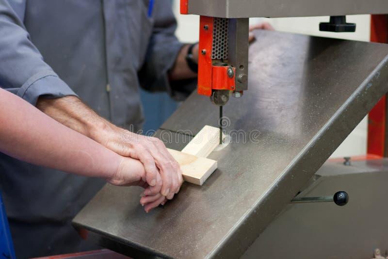 教的木材加工 免版税库存照片