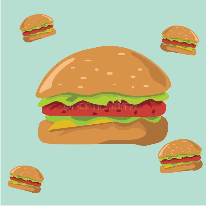 教的汉堡 库存照片