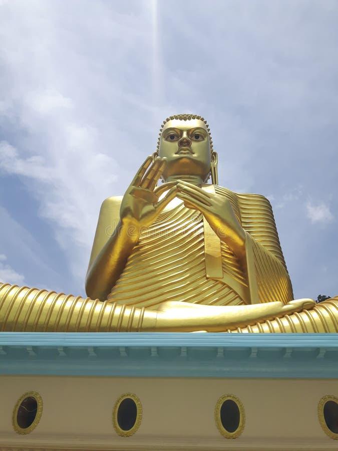 教的Buda 免版税库存照片