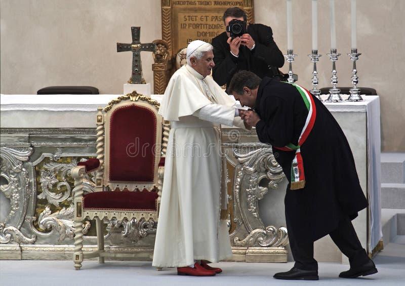 教皇 库存图片
