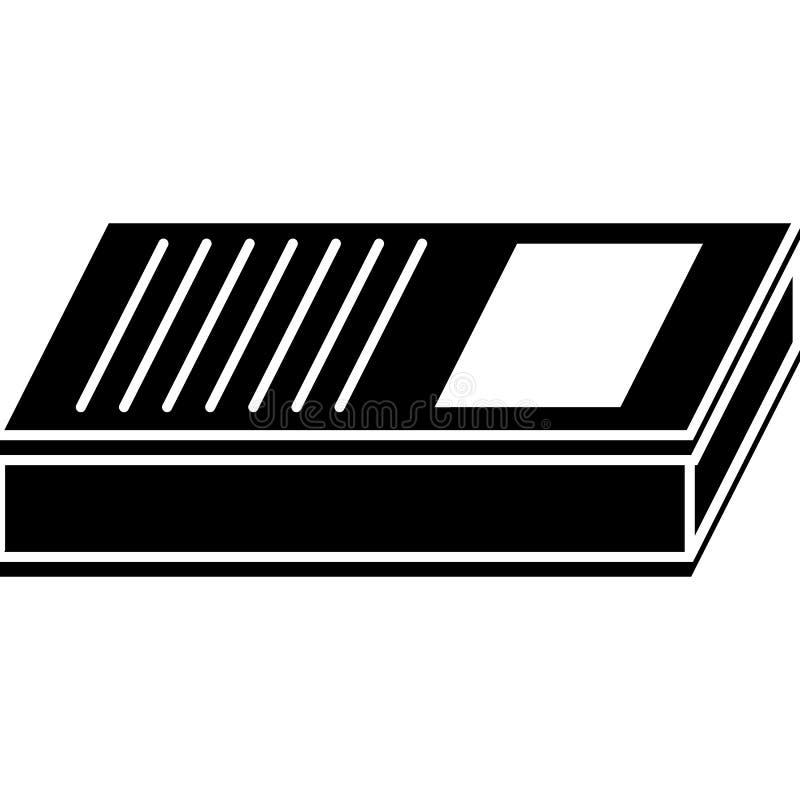 教科书象传染媒介 库存例证