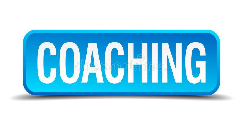 教练按钮 向量例证