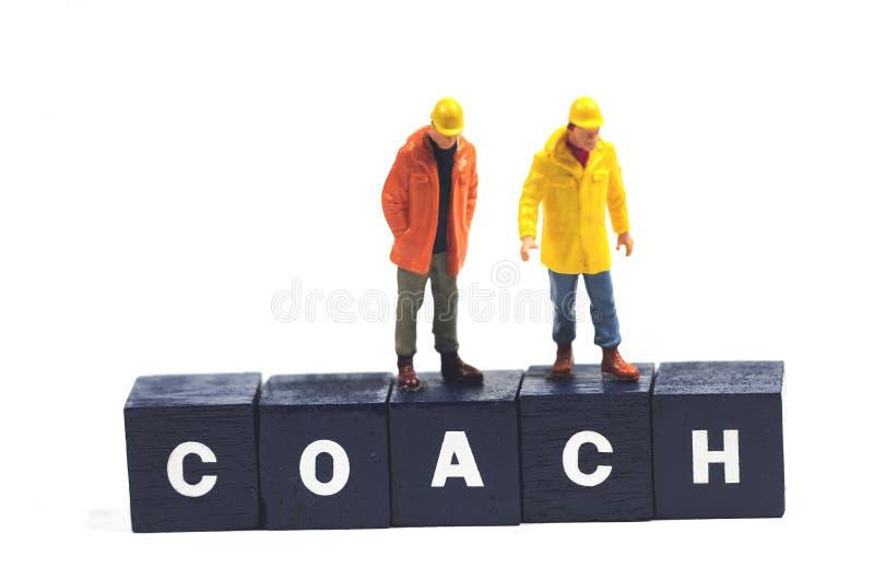 教练 图库摄影