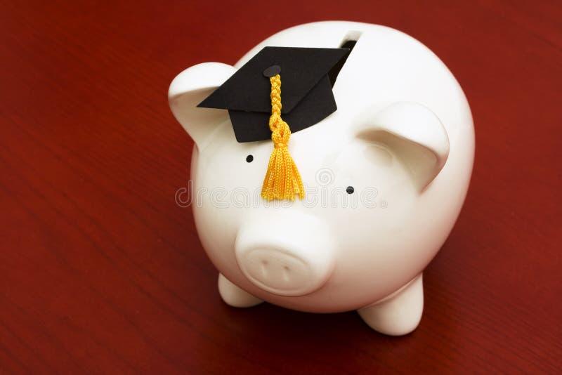 教育储蓄 免版税库存图片