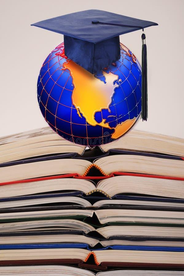 教育全球成功 皇族释放例证