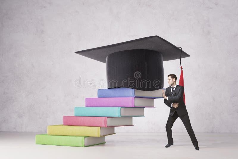 教育和致力概念 免版税库存图片