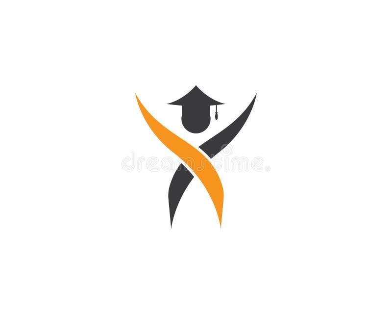 教育商标模板 向量例证