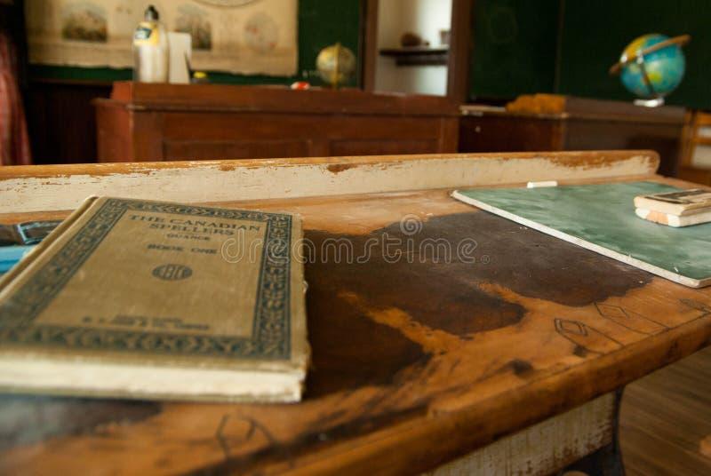 教育在一间守旧派教室 库存照片