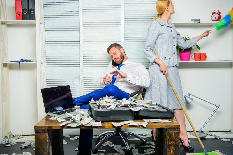教育工作和薪金的平等权利 性别在企业生命力中 在工作场所的女性歧视 免版税库存照片