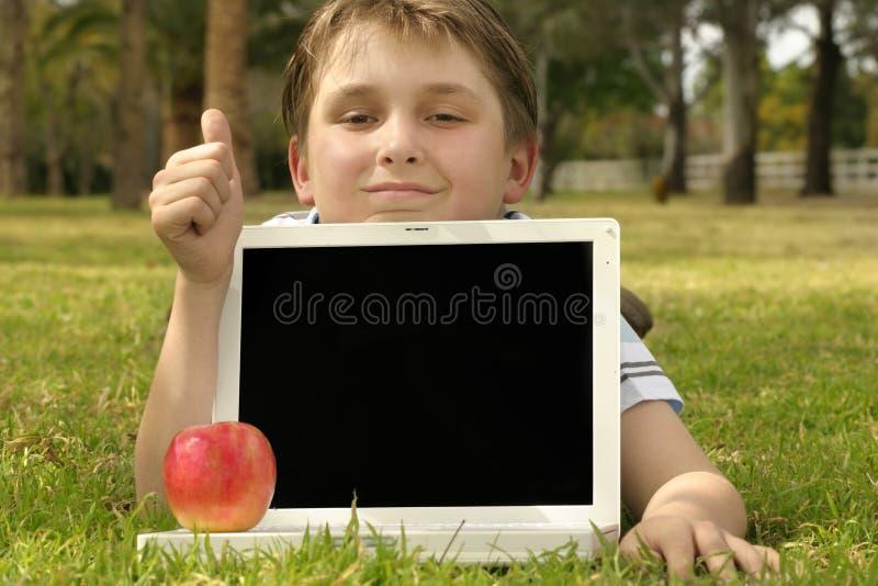 教育性软件 库存图片