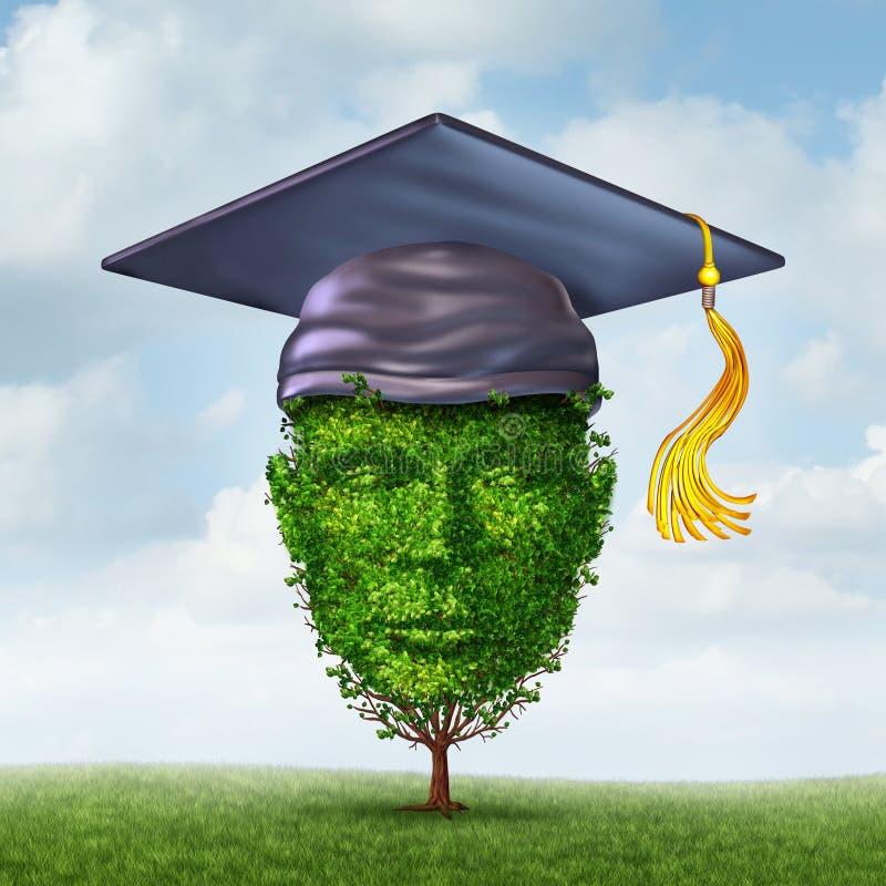 教育成长 向量例证