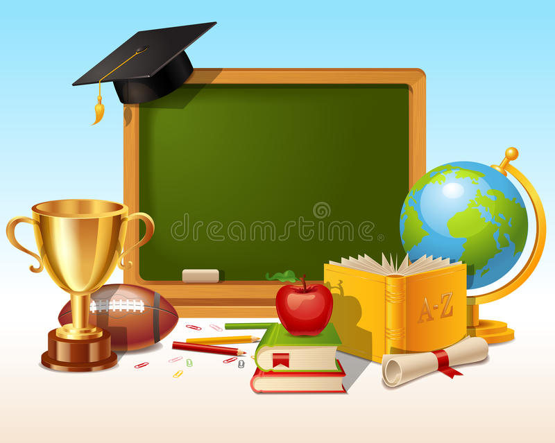 教育概念背景 向量例证