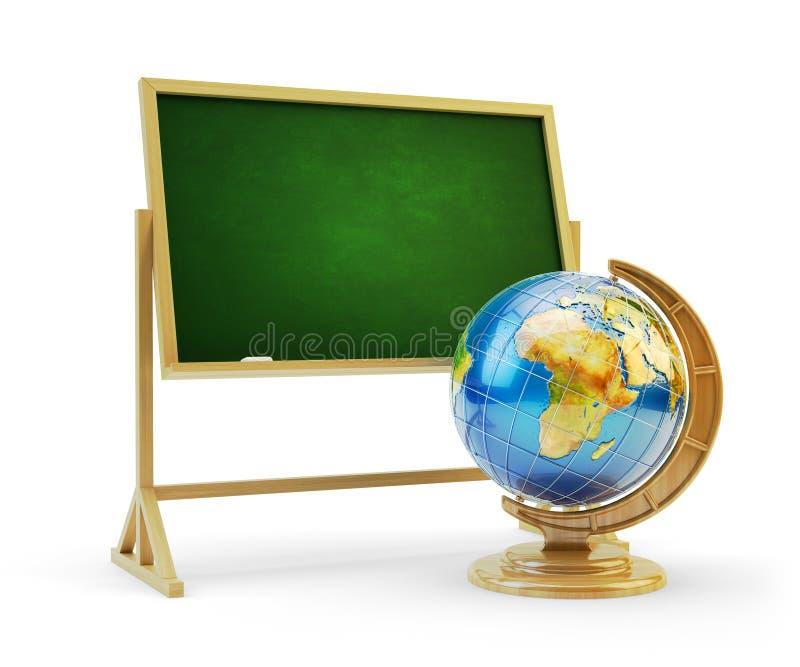 教育概念,回到学校 皇族释放例证