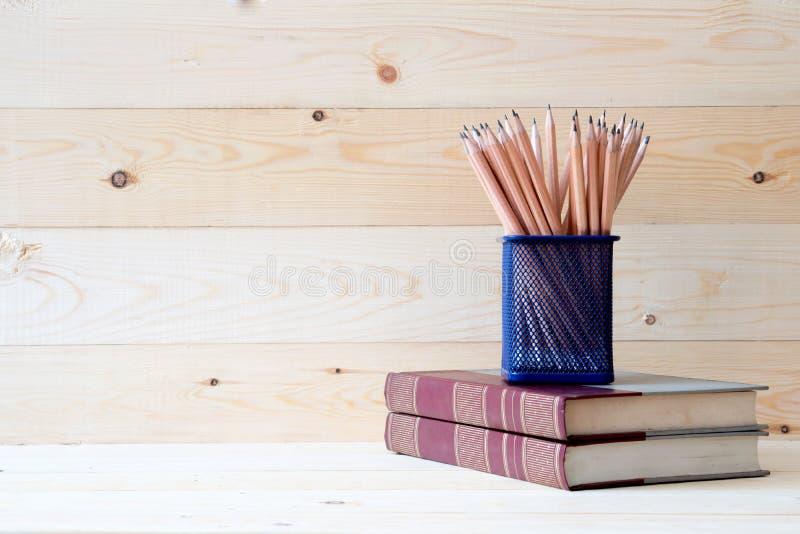教育概念,铅笔 免版税库存图片
