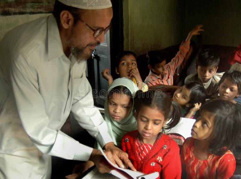教育穆斯林 库存照片