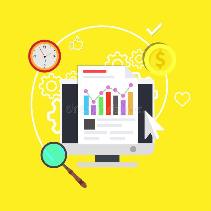 教育网上计算机训练标志 学校企业概念技术网络 数字式styding的想法信息象vecto 库存例证