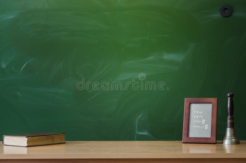 教育背景 回到概念学校 图库摄影