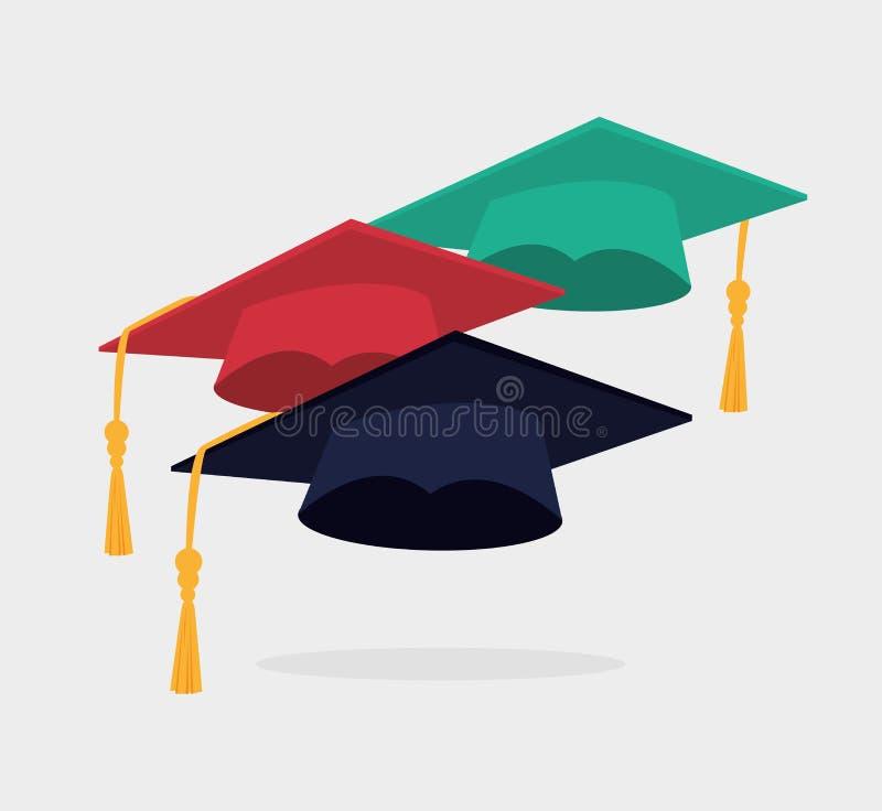 教育设计,传染媒介例证 向量例证