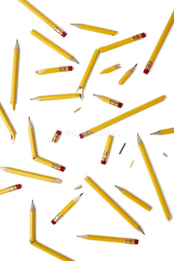 教育铅笔 免版税库存照片