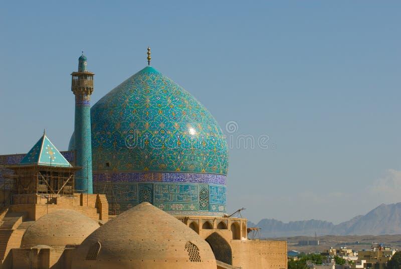 教长清真寺,伊斯法罕,伊朗 免版税库存图片