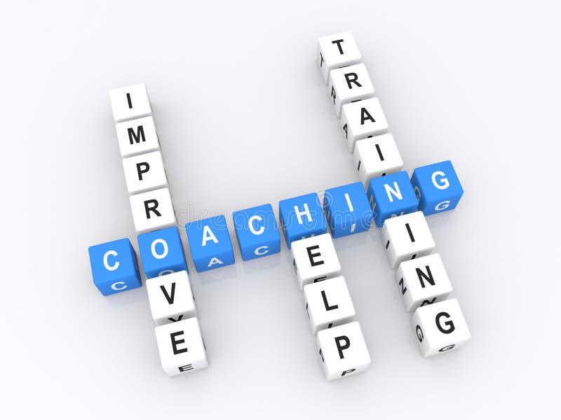 教练概念 库存例证