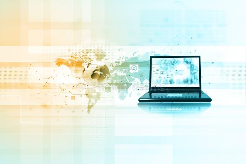数字互联网技术 库存例证