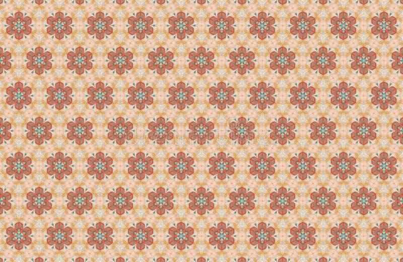 数字式分数维被生成的图象模式墙纸 免版税库存图片