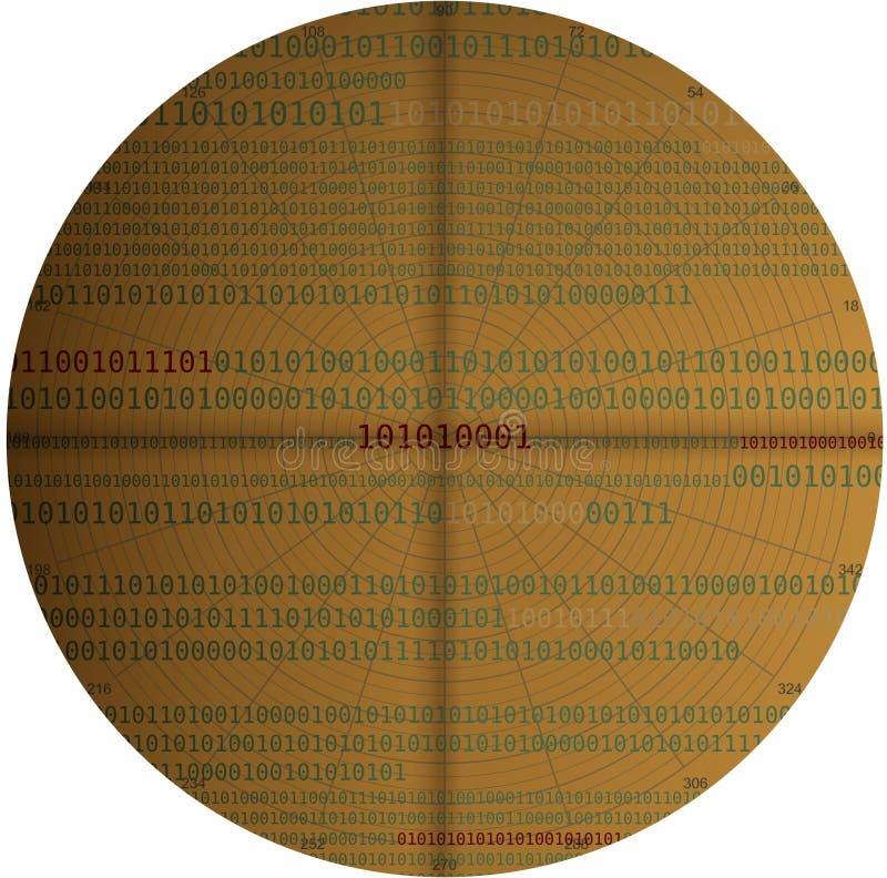数字式分析数据 免版税图库摄影