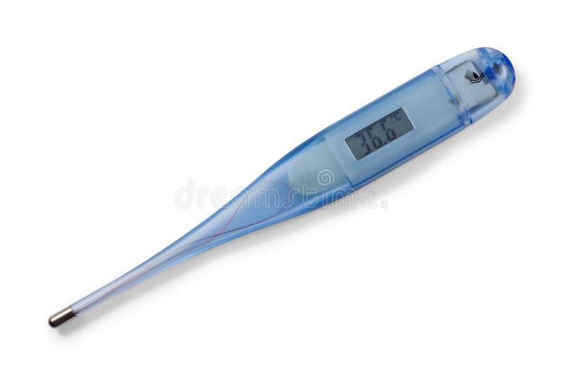 数字式医疗温度计 免版税库存图片