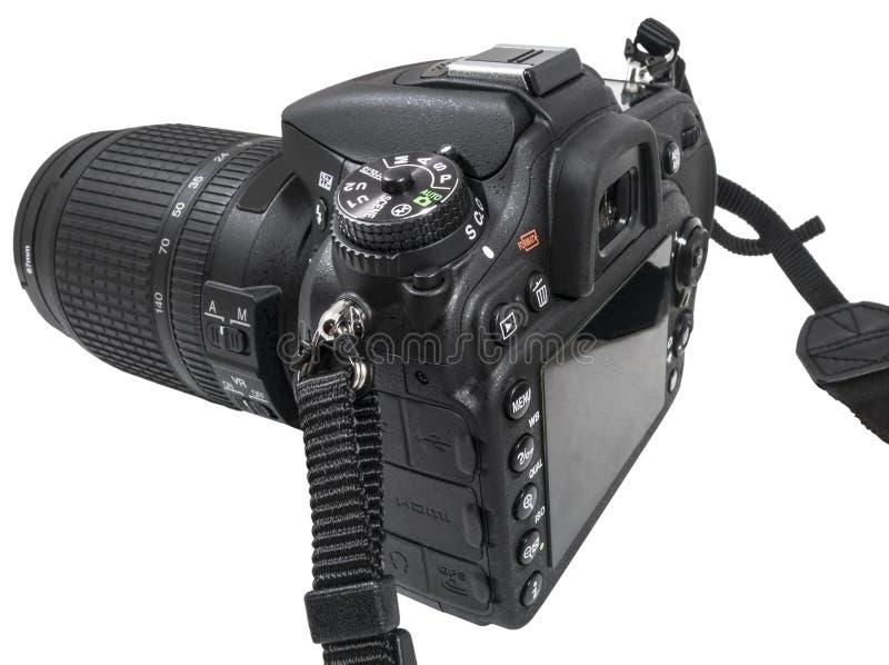 数字式单镜头反光照相机 图库摄影