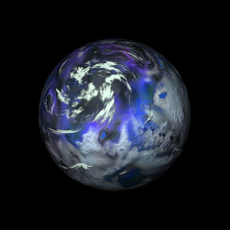 数字式地球 库存例证