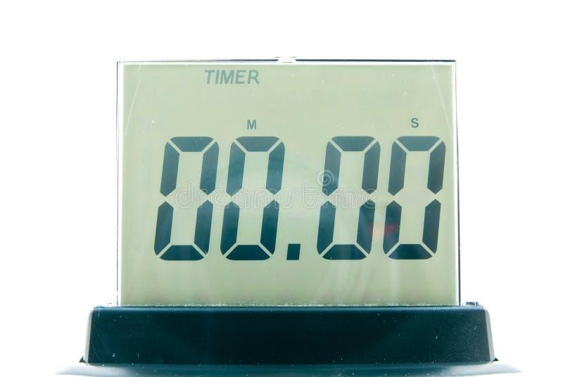 数字式时钟 库存图片