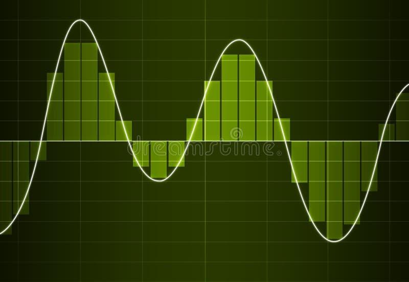 数字式模式交换器 向量例证