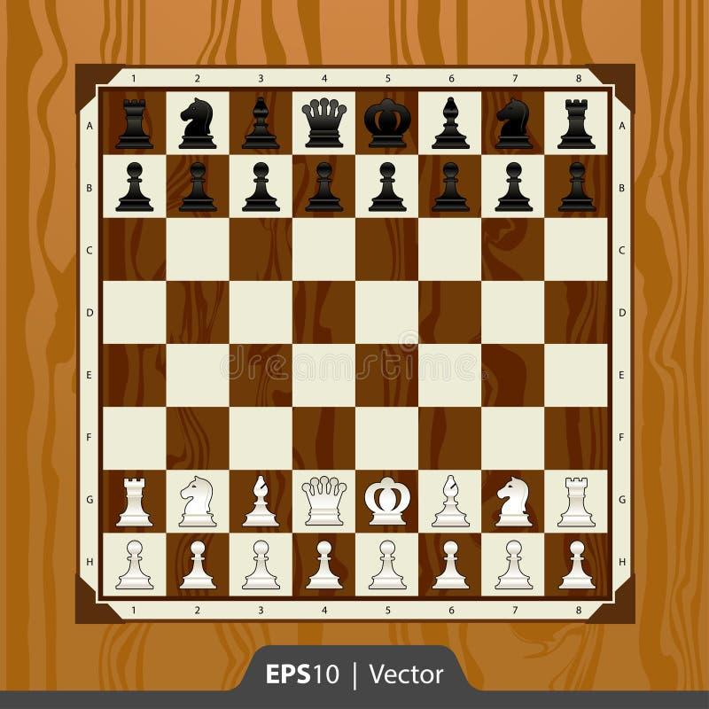 数字式比赛发展接口设计的国际象棋棋局 图库摄影