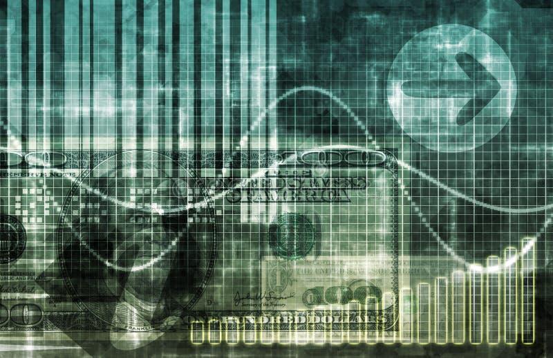 数字式经济 库存例证
